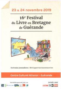 Festival du Livre en BRETAGNE @ GUERANDE