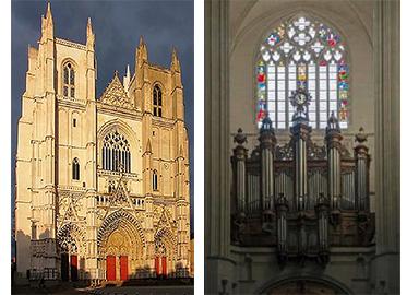 """La cathédrale """"Saint-Pierre & Saint-Paul"""" de Nantes victime d'incendies"""