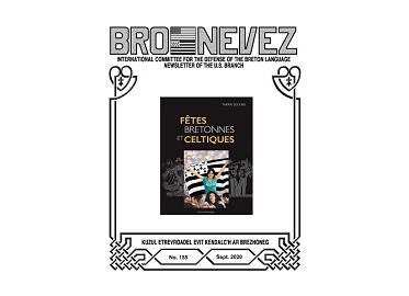 Bro Nevez (revue des bretons des USA) de septembre 2020 est disponible en ligne