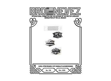 Bro Nevez (revue des bretons des USA) de décembre 2020 est disponible en ligne