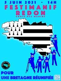 Festimanif à Redon le 5 juin