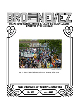 Bro Nevez (revue des bretons des USA) de juin 2021 est disponible en ligne